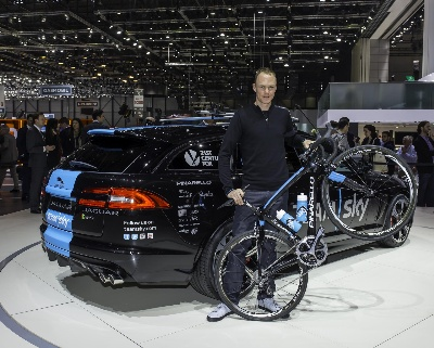 Chris Froome Joins Jaguar to Light up the Stage at Geneva Motor Show