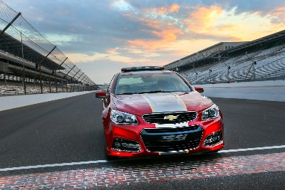 ACTOR CHRIS PRATT TO DRIVE CHEVROLET SS PACE CAR AT BRICKYARD