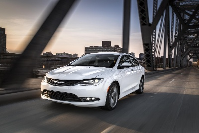 ALL-NEW CHRYSLER 200 EARNS FIVE-STAR OVERALL SAFETY RATING FROM U.S. NATIONAL HIGHWAY TRAFFIC SAFETY ADMINISTRATION