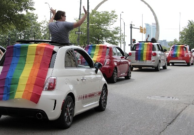 Chrysler Group Shows Its 'Colors' During Motor City Pride