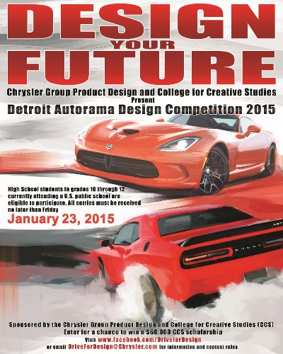 CHRYSLER GROUP LLC HOSTS NATIONWIDE HIGH SCHOOL AUTOMOTIVE DESIGN COMPETITION