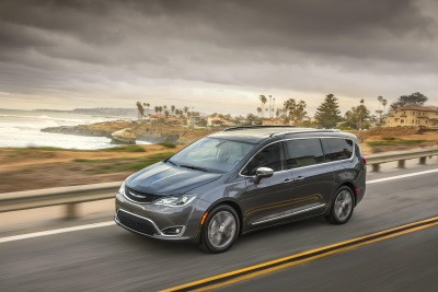 ALL-NEW 2017 CHRYSLER PACIFICA NAMED TOP SAFETY PICK+