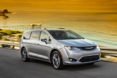 2017 CHRYSLER PACIFICA WINS TOP HONOR AS OVERALL 'BEST FAMILY CAR' FROM THE GREATER ATLANTA AUTOMOTIVE MEDIA ASSOCIATION