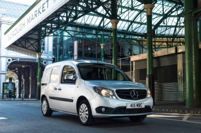 Citan And Sprinter Honoured In Trade Van Driver Awards