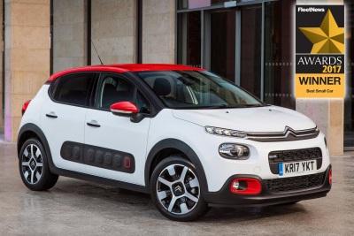 New Citroën C3 Wins Best Small Car In Fleet News Awards