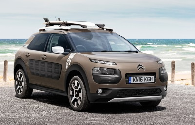 CITROËN C4 CACTUS RIP CURL SPECIAL EDITION GOES ON SALE IN THE UK