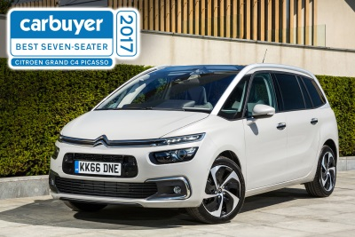 NEW CITROËN GRAND C4 PICASSO NAMED 'BEST SEVEN-SEATER' IN CARBUYER AWARDS 2017