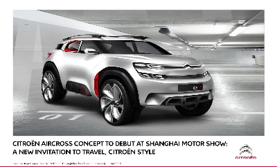 CITROËN'S NEW CONCEPT CAR: THE MAKING OF AIRCROSS