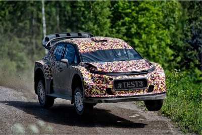 CITROËN RACING'S DEVELOPMENT OF 2017 WORLD RALLY CAR ACCELERATES IN FINLAND