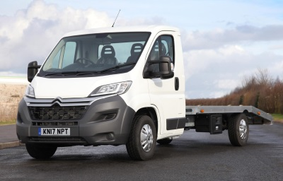 Citroën Launches Latest Relay 'Ready To Run' Car Transporter At The CV Show