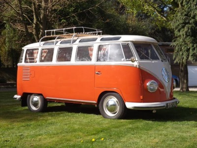 Expertly Restored 'Holy Grail' VW Camper For Auction