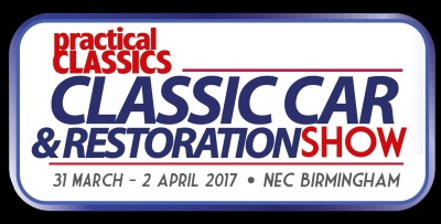 CLASSIC CAR AUCTIONS DEBUTS AT THE PRACTICAL CLASSICS' CLASSIC CAR AND RESTORATION SHOW