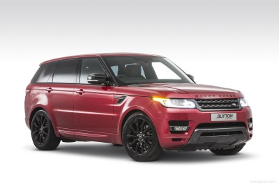 Tailor-Made Sutton Range Rovers Launched At London Motor Show
