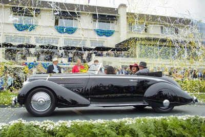 COKER DOMINATES THE FIELD AT PEBBLE BEACH CONCOURS