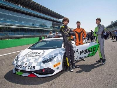 Collezione Automobili Lamborghini In Collaboration With Centro Stile And OMP Designs The New Driver'S Overalls