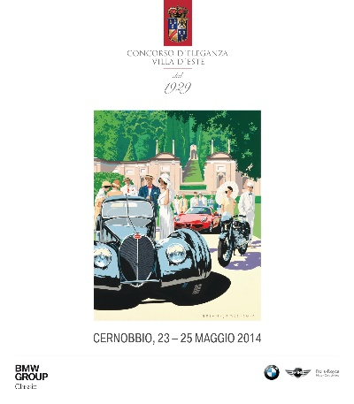 THE CONCORSO D'ELEGANZA VILLA D'ESTE 2014 CELEBRATES THE ROARING TWENTIES AND SOME COMPELLING LANDMARKS