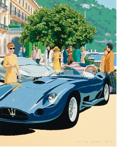 The Concorso d'Eleganza Villa d'Este 2015 slips into the style of the wild and wonderful seventies