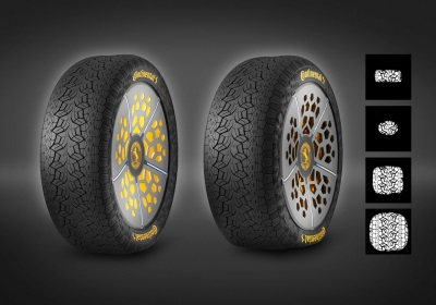 Continental Presents Two New Tyre Technology Concepts For Greater Safety And Comfort