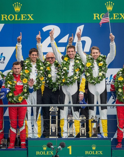 CORVETTE RACING AT LE MANS: A Chevrolet Corvette Comeback Victory