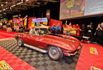 1967 Corvette L88 Convertible Tops Mecum's Record-Setting Dallas Auction