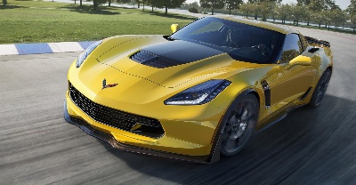 CORVETTE Z06 SPRINTS TO 60 MPH IN LESS THAN 3 SECONDS