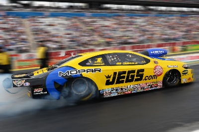 COUGHLIN GIVES DODGE DART TOP BILLING IN QUALIFYING FOR NHRA NATIONALS IN LAS VEGAS