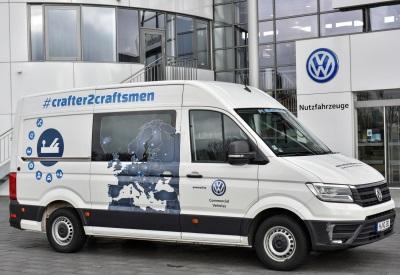 Crafter2craftsmen: New Crafter Returns To Hanover After 50,000 Km Journey
