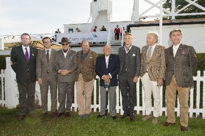 CREDIT SUISSE CREATES THE DREAM TEAM AT THE 2014 GOODWOOD REVIVAL AND WELCOMES DEREK BELL AS ITS LATEST AMBASSADOR