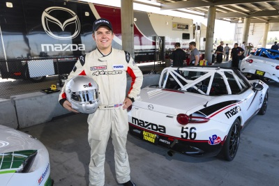 Matt Cresci Ready For The Challenges Of Professional Life In The Mazda MX-5 Cup