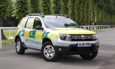 DACIA DUSTER 4X4 JOINS WINDSOR COMMUNITY FIRST RESPONDERS