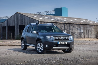 Dacia Duster Commercial Judged 'Best 4X4 Car-Derived Van' For Second Consecutive Year At VansA2Z Awards 2017