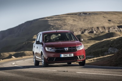 New Dacia Sandero Tops Cap HPIS Lowest Cost Of Ownership List