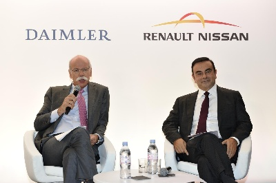 COOPERATION OF DAIMLER AND RENAULT-NISSAN ALLIANCE CONTINUES TO ACCELERATE
