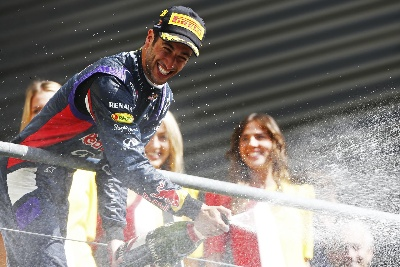DANIEL TAKES SENSATIONAL SPA WIN