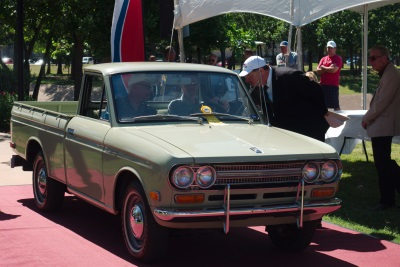 1972 DATSUN PICKUP WINS ITS CLASS AT THE CONCOURS D'ELEGANCE OF TEXAS