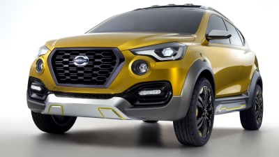 DATSUN GO-CROSS CONCEPT DEBUTS IN DELHI