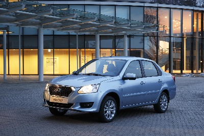 DATSUN ON-DO SEDAN ARRIVES IN RUSSIA