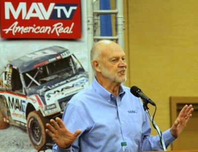 DAVE DESPAIN SIGNS TWO-YEAR CONTRACT TO HOST MAVTV LIVE RACING EVENTS ... LANDS OWN SERIES