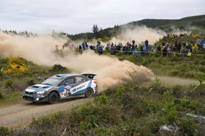 DAVID HIGGINS CLAIMS VICTORY AT LEGENDARY OLYMPUS RALLY