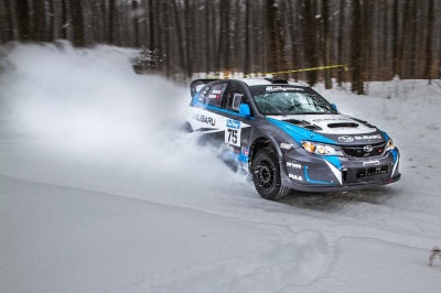 DAVID HIGGINS AND CRAIG DREW CLAIM SNO*DRIFT RALLY VICTORY