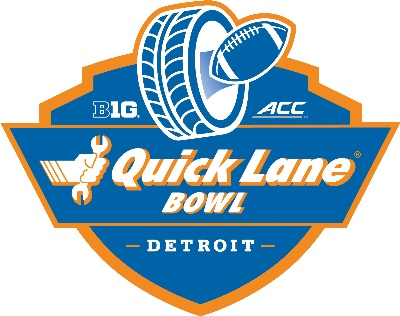 DETROIT LIONS AND FORD MOTOR COMPANY ANNOUNCE QUICK LANE BOWL GAME AT FORD FIELD