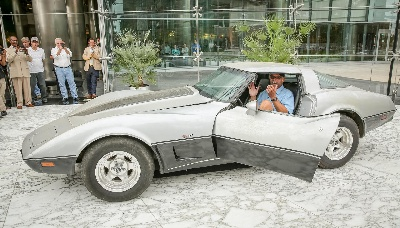 DETROIT MAN REUNITED WITH STOLEN CORVETTE AFTER 33 YEARS