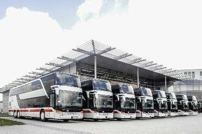 Deutsche Bahn expands its bus fleet with Setra double-decker buses