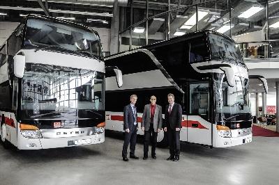 deutsche bahn expands its bus fleet with setra double decker buses. Black Bedroom Furniture Sets. Home Design Ideas