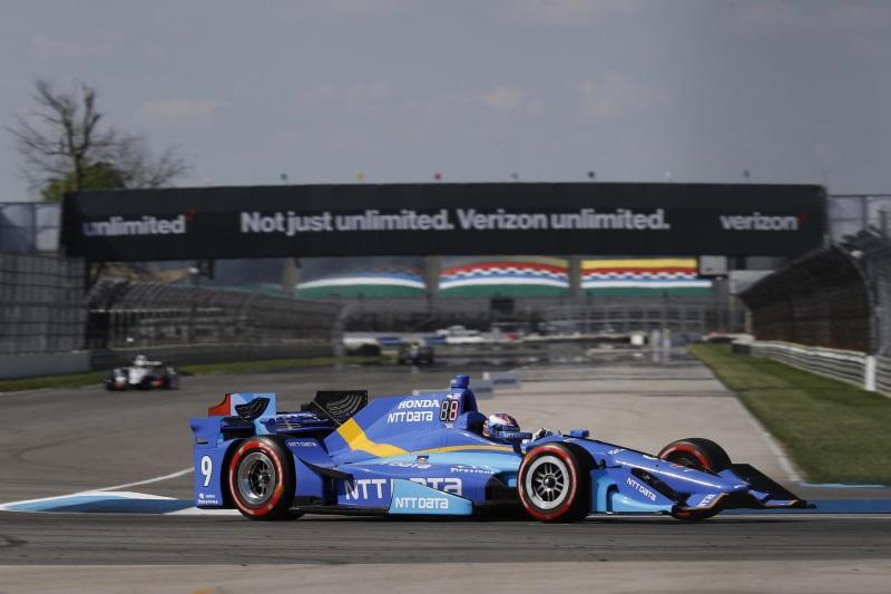 Dixon, Hunter-Reay Podium At Indycar Grand Prix