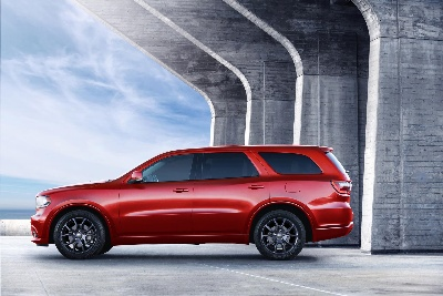 DODGE TURNS UP THE HEAT WITH NEW RADAR RED NAPPA LEATHER SEATS IN 2015 DODGE DURANGO R/T