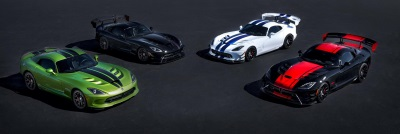 DODGE VIPER 25TH ANNIVERSARY LIMITED-EDITION MODELS SOLD OUT