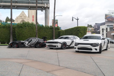 SPECIALLY WRAPPED DODGE AND VIPER VEHICLES PATROL L.A. STREETS THIS WEEKEND IN CELEBRATION OF UPCOMING 'STAR WARS' MOVIE
