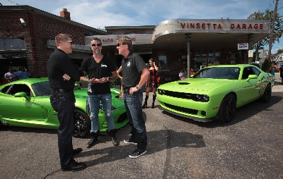 Dodge Dominates Woodward Avenue This Weekend with Horsepower, Live Music and Celebrity Guests