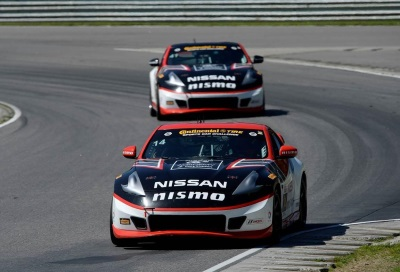 DORAN RACING 370Z NISMO EARNS THIRD PODIUM IN FOUR RACES FOR NISSAN AT LIME ROCK
